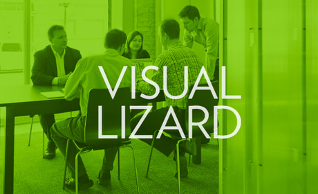 Visual Lizard logo