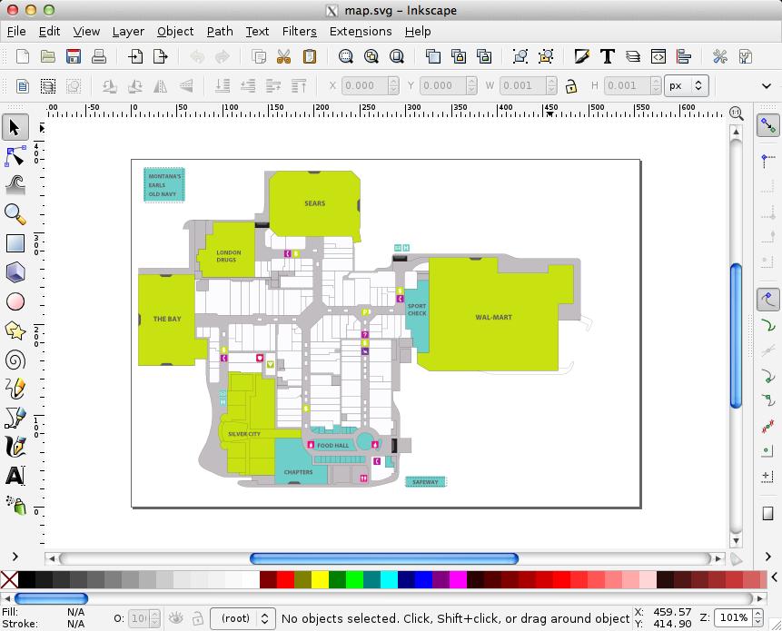 Inkscape House Plans