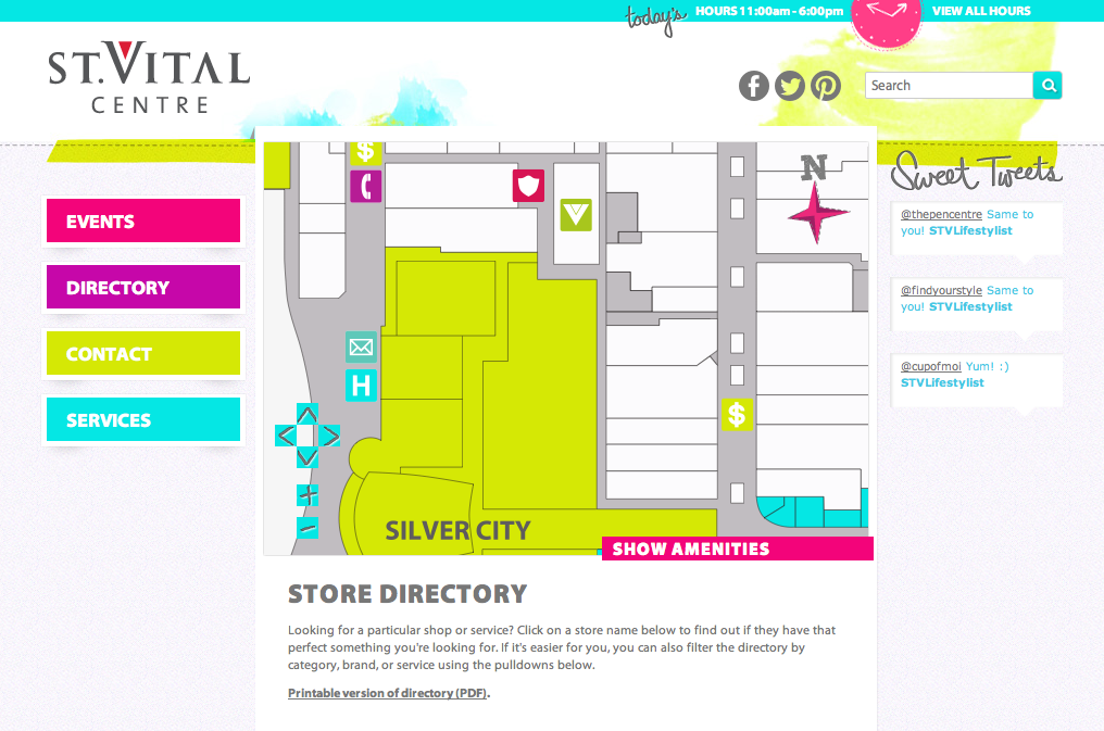 Scalable Vector Graphics In St  Vital Centre | Visual Lizard