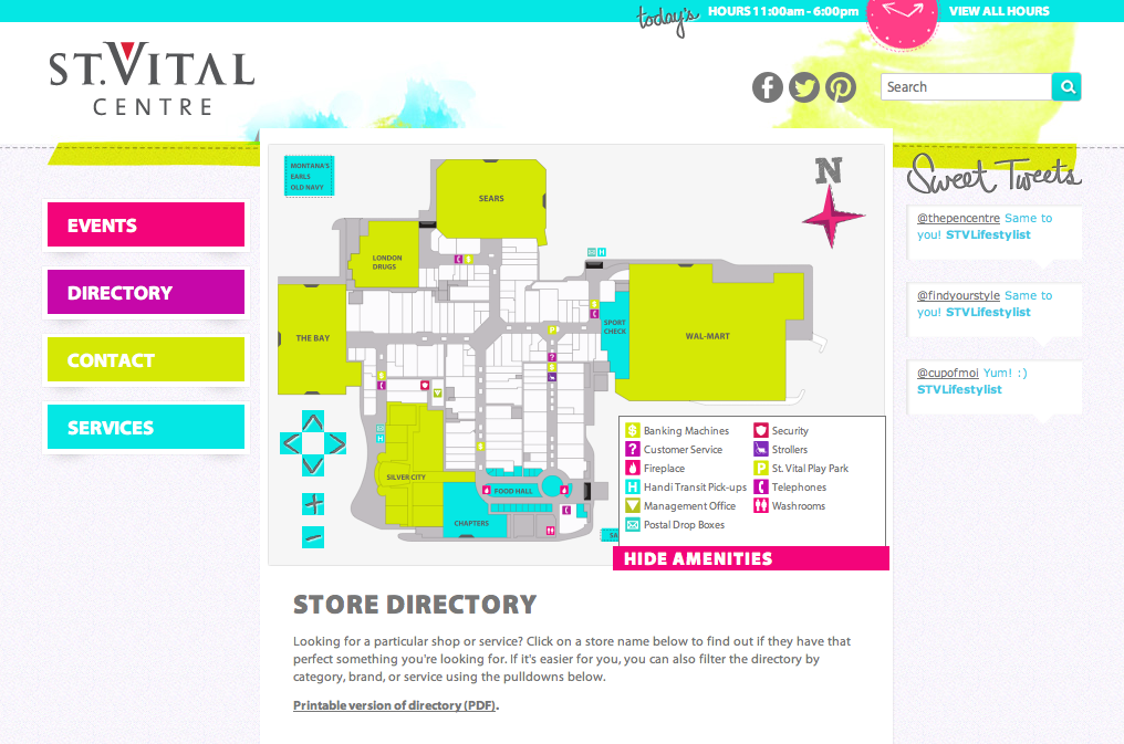 St Vital Mall Map Scalable Vector Graphics In St. Vital Centre   An Article Posted
