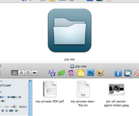 Password Protected ZIP Archive on OS X - An Article Posted On The